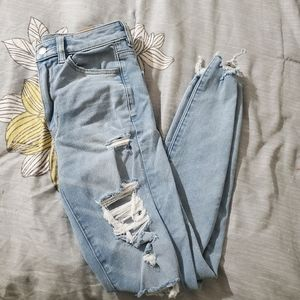 American Eagle Next level ripped jeans